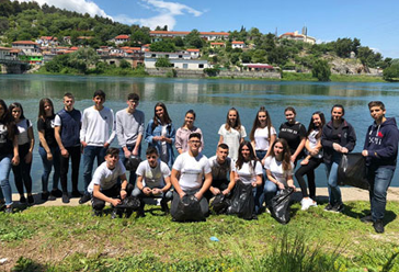 Together for zero plastic in Albanian Islands